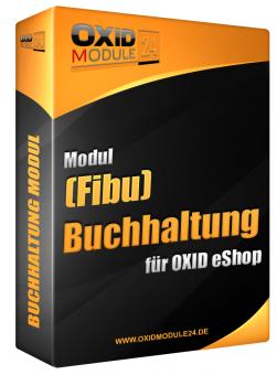 Buchhaltung (Fibu) Modul für OXID 4.7.x/5.0.x - 4.10.x/5.3.x | Dauerlizenz (Unbefristet)