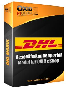 DHL Versenden Modul für OXID Dauerlizenz (Unbefristet)