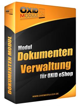 Dokumenten Manager Modul für OXID 4.7.x/5.0.x - 4.10.x/5.3.x | Dauerlizenz (Unbefristet)