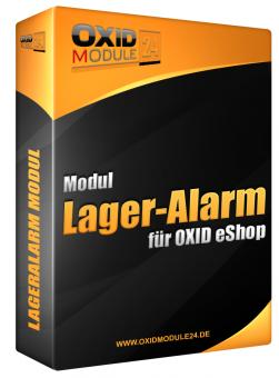 Lageralarm Modul für OXID