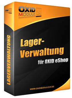 Lager Manager Modul für OXID 4.7.x/5.0.x - 4.10.x/5.3.x | Dauerlizenz (Unbefristet)