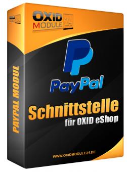 PayPal Payment Modul für OXID 4.7.x/5.0.x - 4.10.x/5.3.x | Dauerlizenz (Unbefristet)