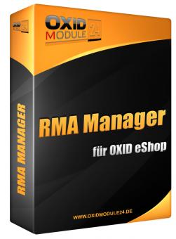 RMA Manager Modul für OXID 4.7.x/5.0.x - 4.10.x/5.3.x | Testlizenz (1 Monat)
