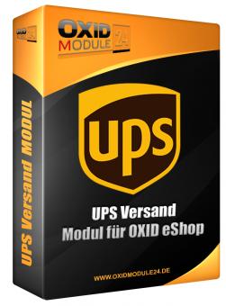 UPS Versand Modul für OXID